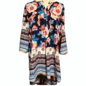 Fig & Flower Kendra tunic NWT Size XL